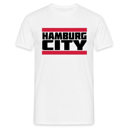 Hamburg City - Männer T-Shirt
