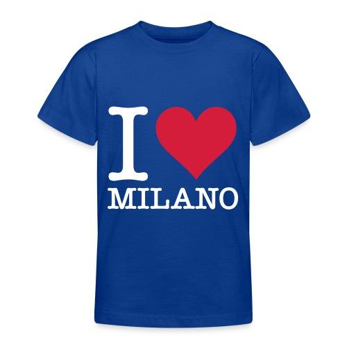 Maglia con simbolo italiano (guardare il retro) - Maglietta per ragazzi