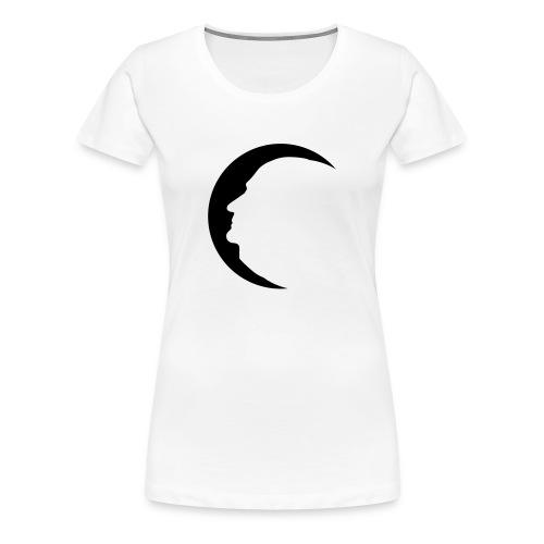 Atatürk Ay Mond (Frau/Bayan) - Frauen Premium T-Shirt