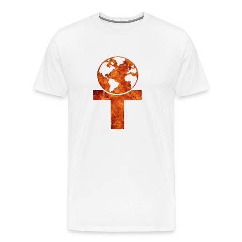 Classical element (fire) - Premium T-skjorte for menn