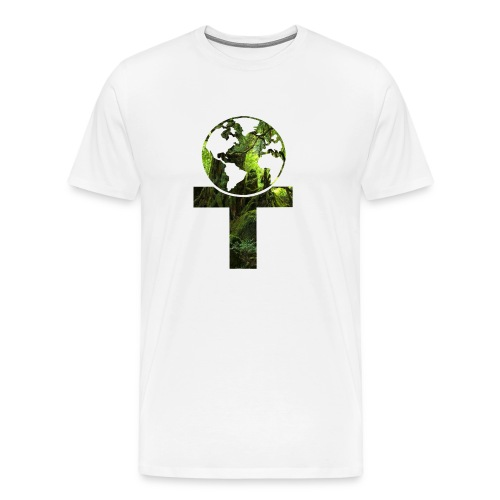 Classical element (earth) - Premium T-skjorte for menn