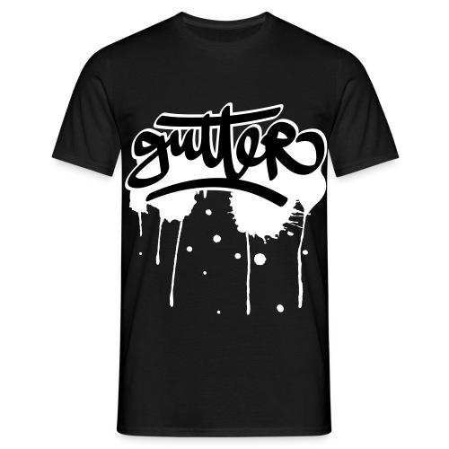 Gutter splatter - Mannen T-shirt
