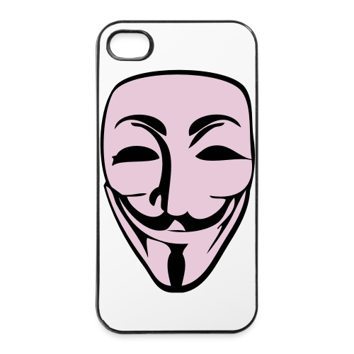 Anony Cover - iPhone 4/4s Hard Case