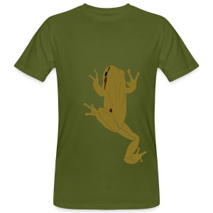 Climbing Tree Frog - Men's Organic T-shirt