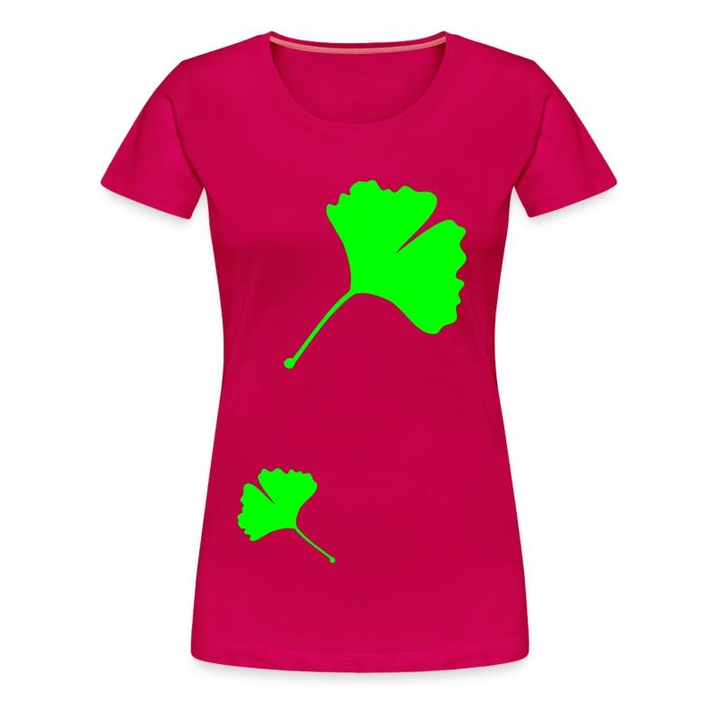 Ginkgo - Women's Premium T-Shirt
