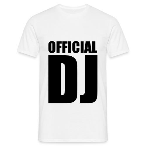 Dj shirt - Mannen T-shirt