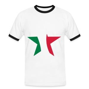 Italie shirt - Mannen contrastshirt