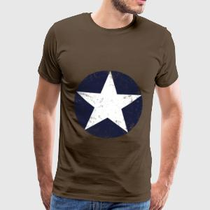 us air force star vintage T-shirts - Premium-T-shirt herr