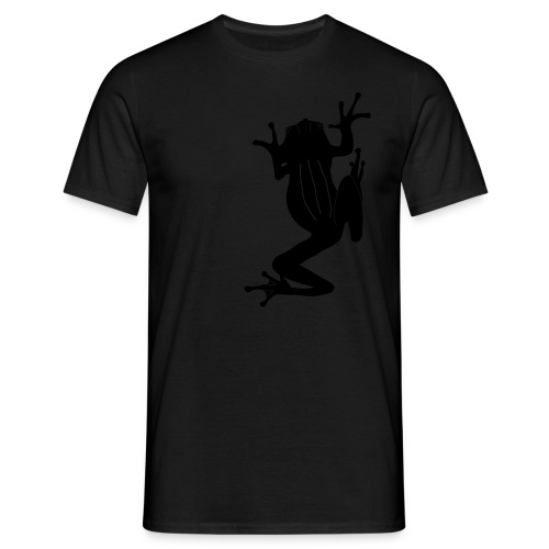Tree Frog Climbing - Men's T-Shirt