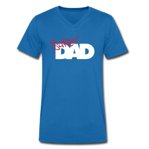 Super Dad 2a - Men's V-Neck T-Shirt