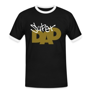 Super Dad 4a - Men's Ringer Shirt