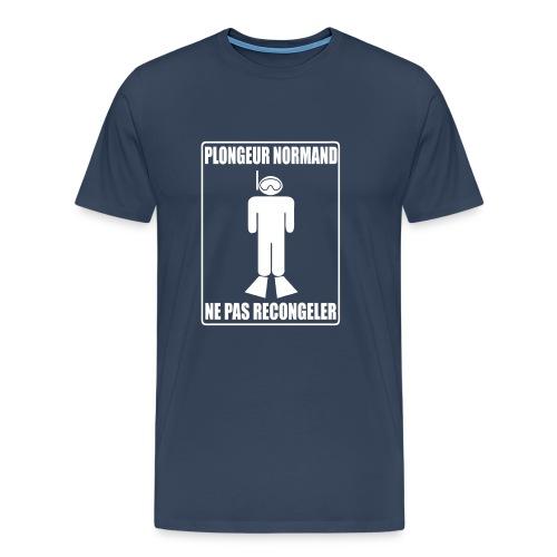 Plongeur Normand - Imp.Flex+Logo Dos - T-shirt Premium Homme