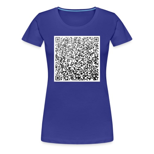 QR-Girlie Brief - Frauen Premium T-Shirt