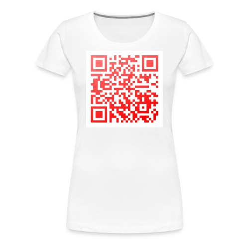 QR-Girlie: Hast du gerade? - Frauen Premium T-Shirt