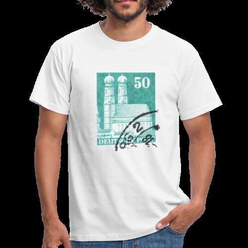 München Briefmarken T-Shirt - Männer T-Shirt