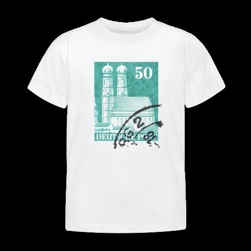 München Briefmarken Kinder T-Shirt - Kinder T-Shirt