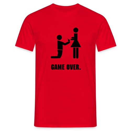 Game Over. - Men's T-Shirt