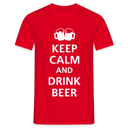 Beer. - Men's T-Shirt