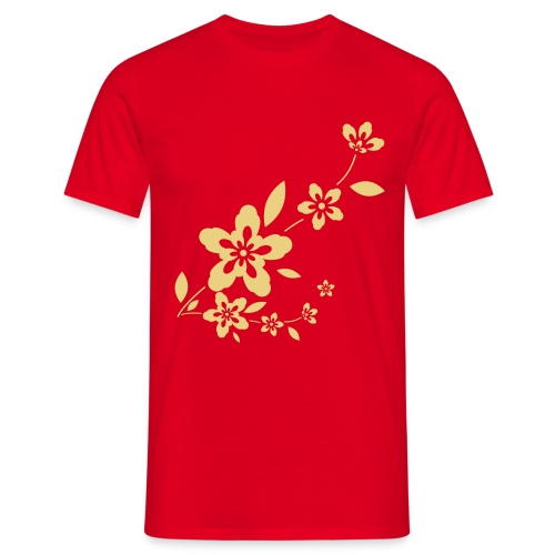 Flowery Tee - Men's T-Shirt