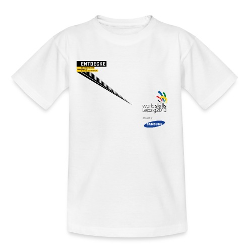 Entdecke Logo Teenager T-Shirt - Teenage T-Shirt