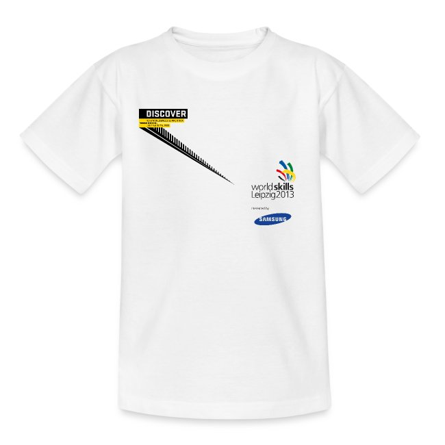 Discover Logo Teenager T-Shirt