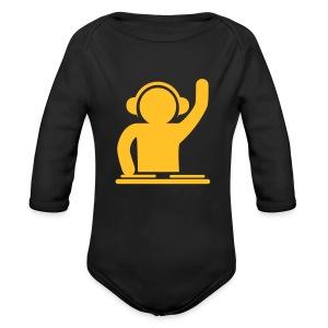 DJ Baby Grow - Organic Longsleeve Baby Bodysuit