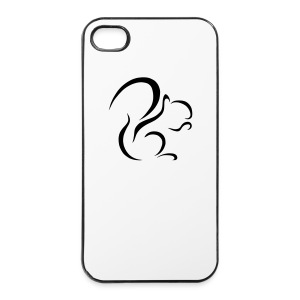 iPhone 4/4S Logo Hard Case (White) - iPhone 4/4s Hard Case