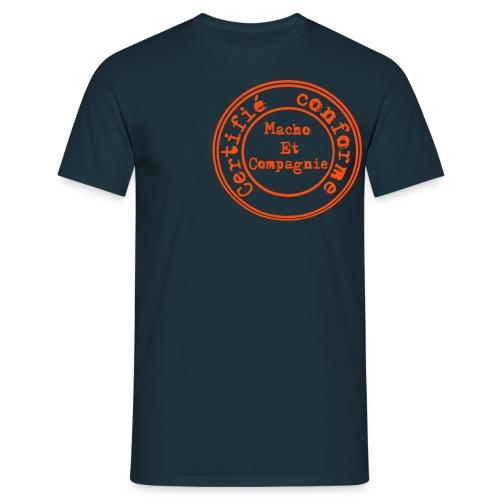 Certifié conforme décalé - T-shirt Homme