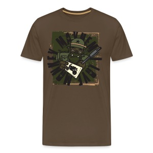 Kabes Monkey Mayhem T-Shirt - Men's Premium T-Shirt