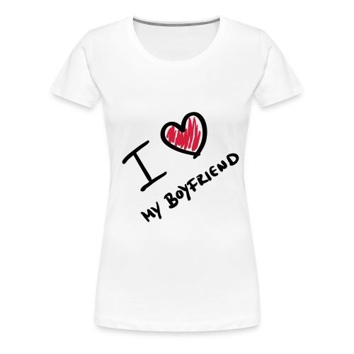 My Boyfriend - Vrouwen Premium T-shirt