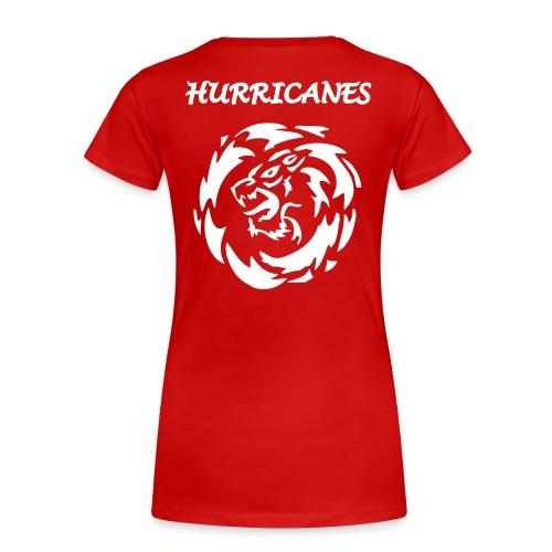 Girlieshirt rot - Frauen Premium T-Shirt