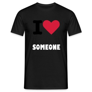 i love someone - Mannen T-shirt