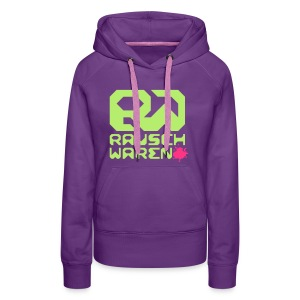 Hooded Rauscher - Frauen Premium Hoodie