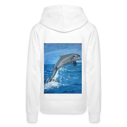 Delphin - Frauen Premium Hoodie