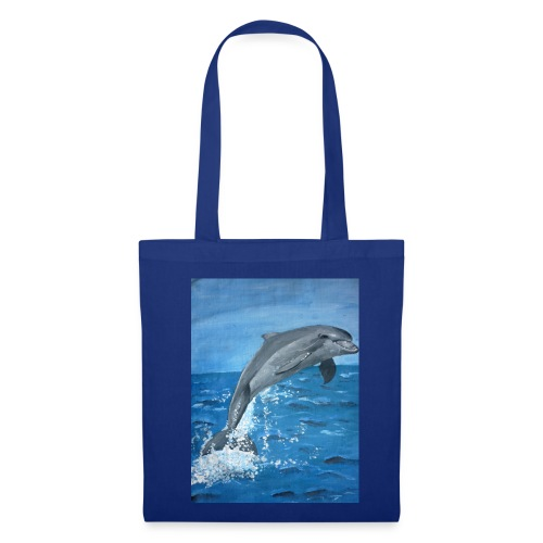 Delphin - Stoffbeutel