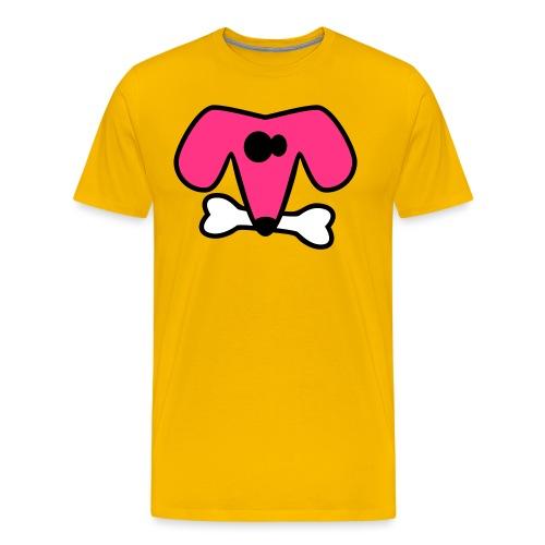 Strange dog - Men's Premium T-Shirt
