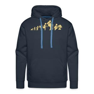 Sweat-Shirt picto Bonsaïka evolution  - Sweat-shirt à capuche Premium pour hommes