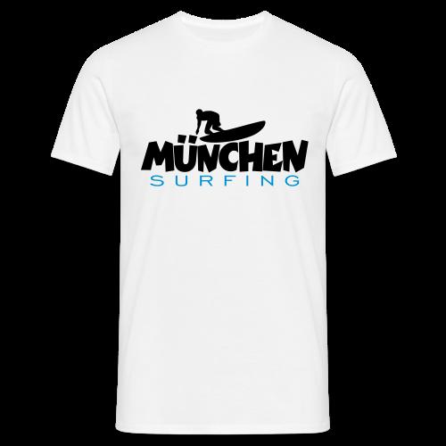 München Surfing T-Shirt - Männer T-Shirt