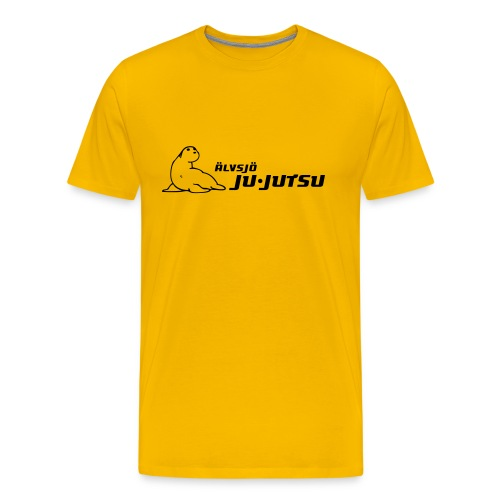 klubbtröja med Moses i svart - Premium-T-shirt herr