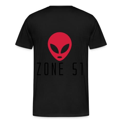 Zone 51 - T-shirt Premium Homme
