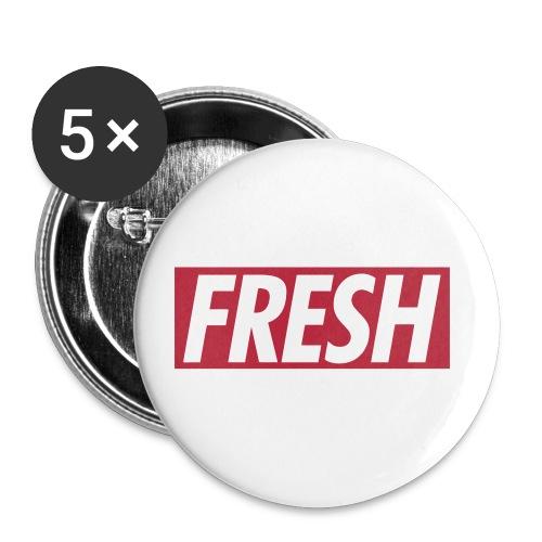 fresh buttons - Buttons klein 25 mm