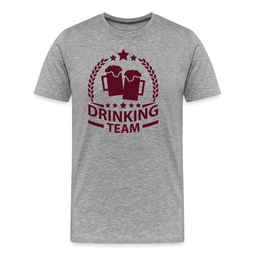 DRINKING TEAM T-SHIRT HOMME. - T-shirt Premium Homme