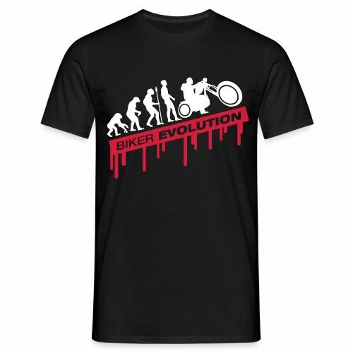 Biker Evolution - Men's T-Shirt