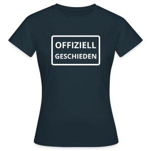offiziell geschieden - Frauen T-Shirt