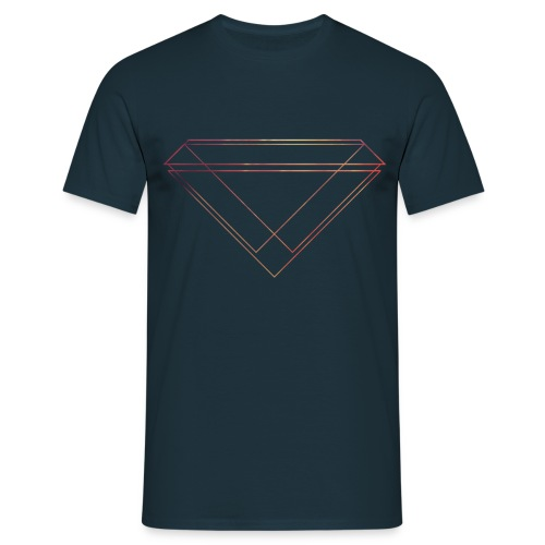 Red Diamond Shirt - Männer T-Shirt