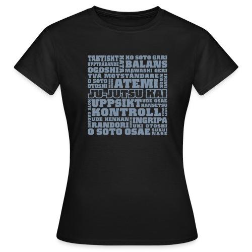 Jujutsu Kai silver - T-shirt dam