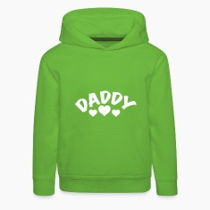 Dad / Daddy / Papa / Herz / i love my dad 1c Hoodies