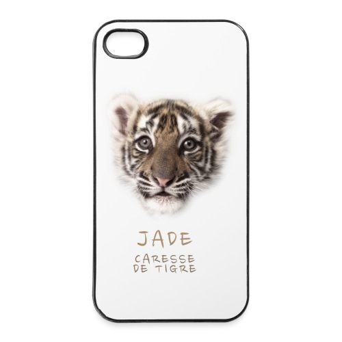 Coque iPhone 4/4S Jade bébé portrait - Coque rigide iPhone 4/4s