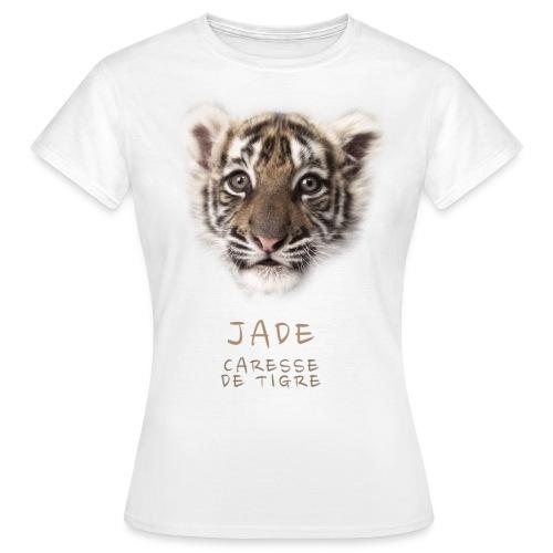 T-Shirt Femme Jade bébé portrait - T-shirt Femme