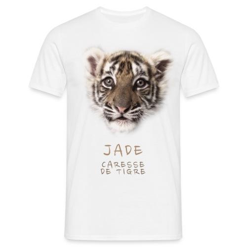 T-Shirt Homme Jade bébé portrait - T-shirt Homme